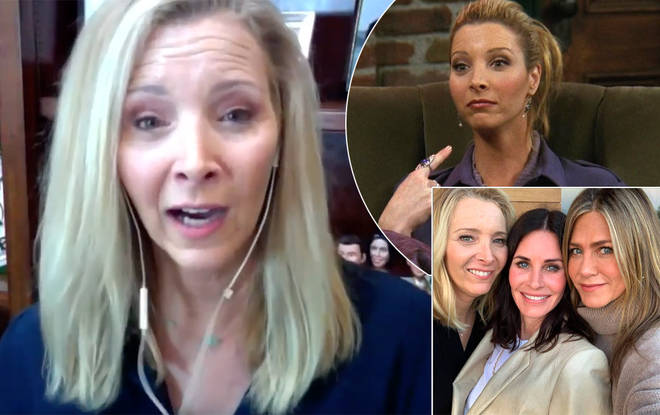 Lisa Kudrow revealed the exciting news