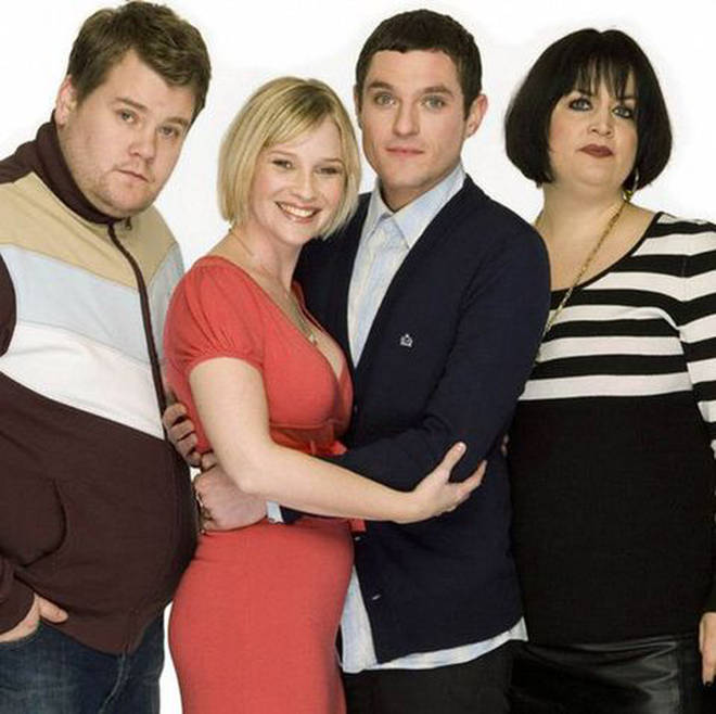 Gavin and Stacey first aired on the BBC between 2007 and 2010