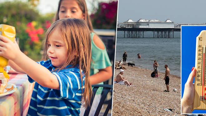 This weekend will be hot in the UK