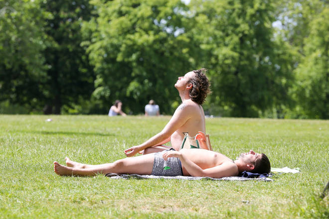 The UK will see temperatures rise again