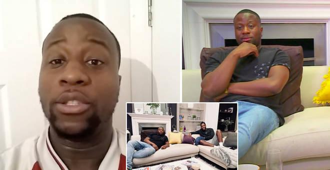 Babatunde Aleshe is starring on Celebrity Gogglebox