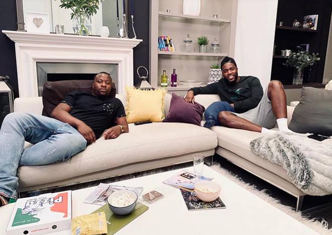 Babatunde Aleshe and Mo Gilligan on Celebrity Gogglebox