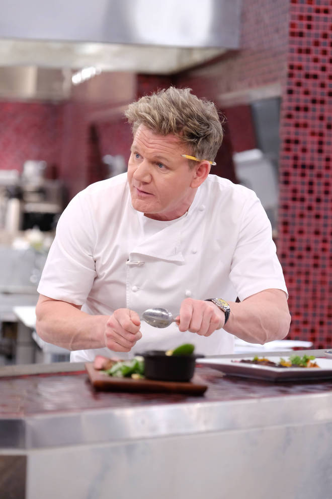 Gordon Ramsey was the host of the UK's first series of Hell's Kitchen back in 2004