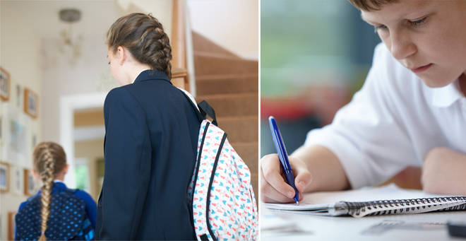 Secondary schools will reopen for some pupils on 15 June (stock images)
