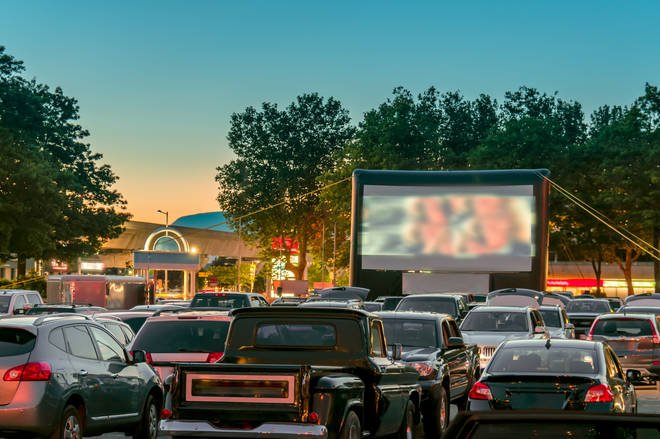People can soon attend drive-in cinemas