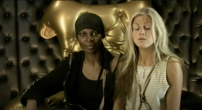 Dawn came with Nikki to the diary room