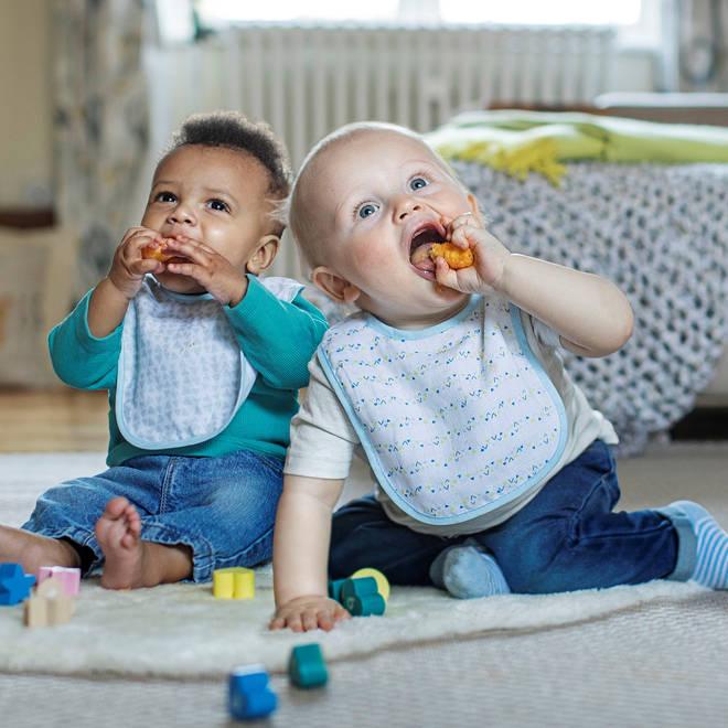 Babies love experiencing new textures