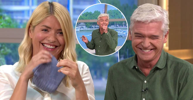 Holly Willoughby and Phillip Schofield were left in hysterics on This Morning