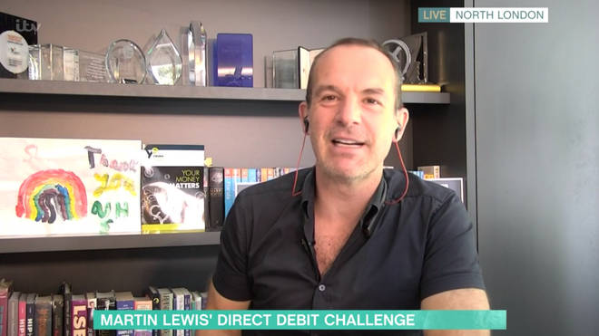 Martin lewis gave his advice on This Morning
