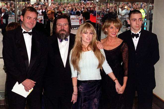 The full cast of the Royle Family at the premiere in 2000