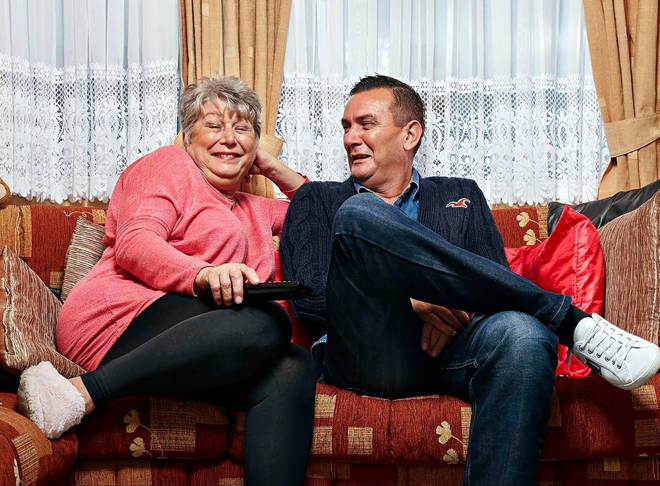 Jenny and Lee star on Gogglebox