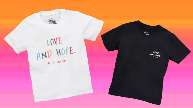 Here's how to buy your very own Love and Hope T-shirt