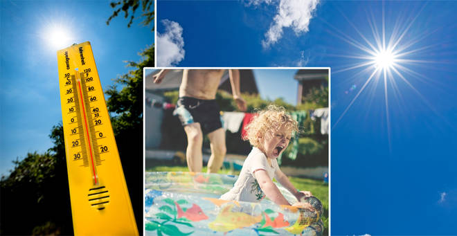 The warm weather looks set to return later this week (stock images)