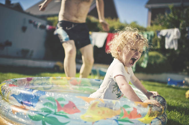 It might be time to dig out the paddling pool again... (stock image)