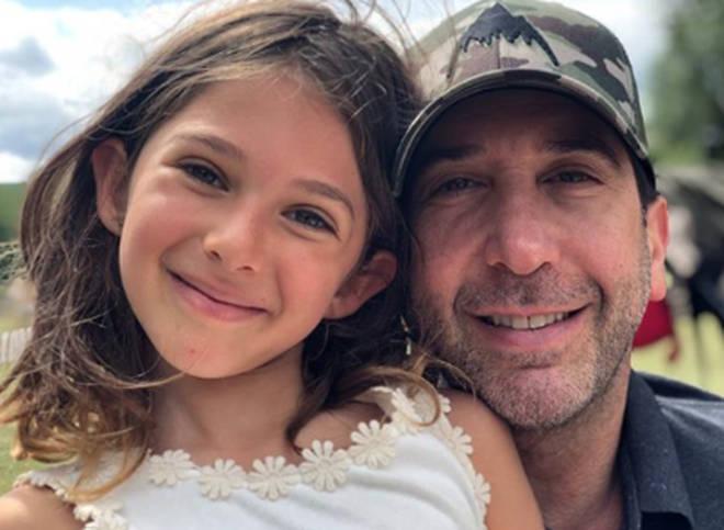 Davis Schwimmer previously described his daughter Cleo as a 'non-conformist'