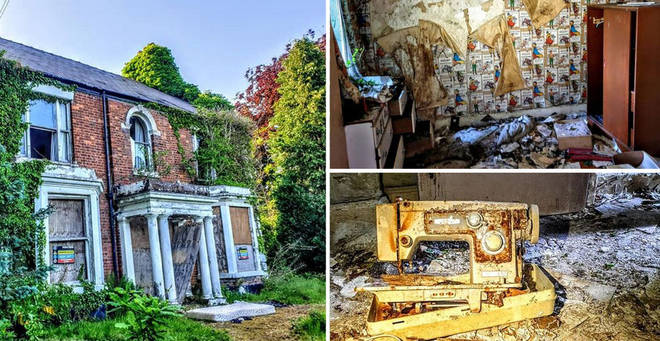 Jake Parr uncovered a forgotten house in Crewe