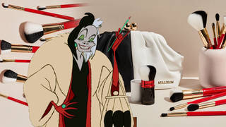 Spectrum have released a new Disney range with brushes and accessorises inspired by Cruella De Vil