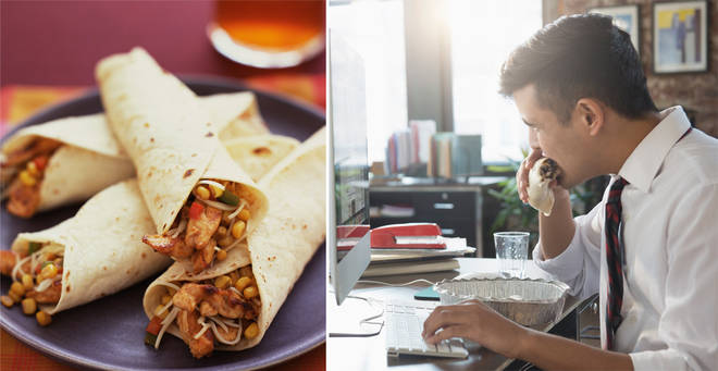 The woman claims that the hack makes up to 48 burritos (stock images)