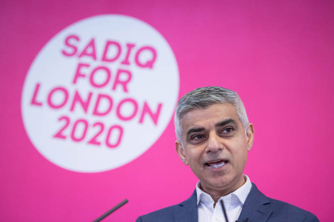 Khan spoke out on LBC and called the masks the new normal