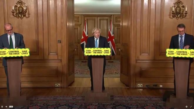 Boris Johnson led the coronavirus briefing today