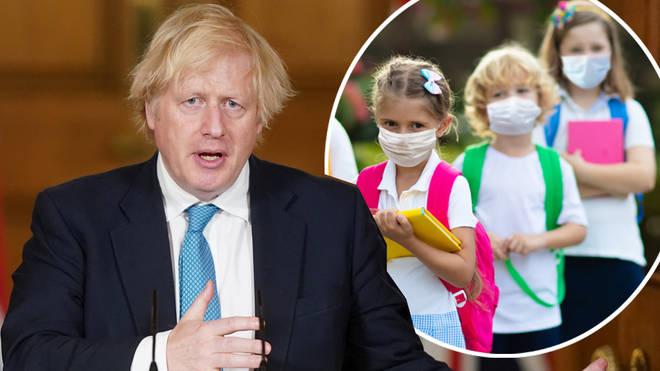 Boris Johnson said it is 'safe' for children to return to school