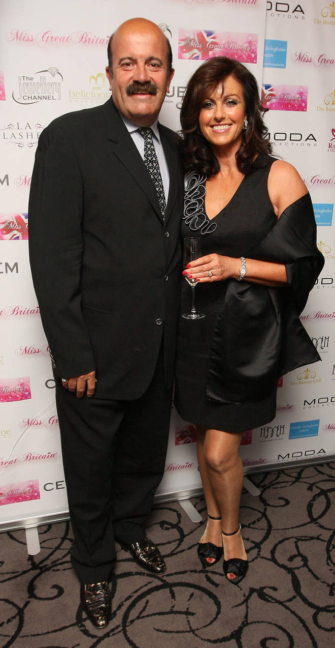 Willie Thorne and his ex wife Jill Saxby
