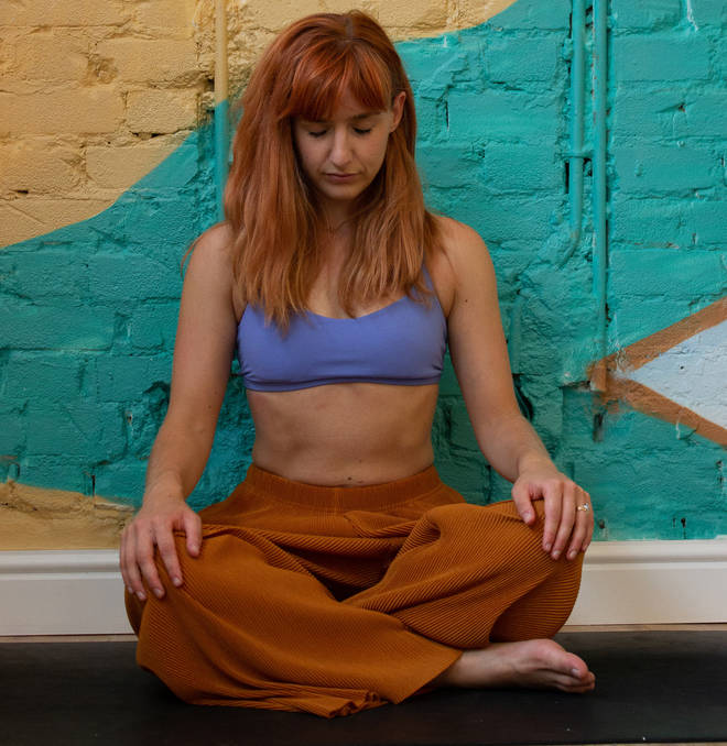 Scarlett Woodford has been teaching yoga for three years