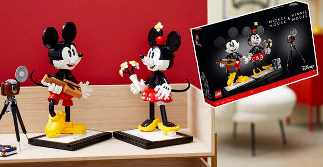 New Minnie And Mickey Mouse LEGO has been announced