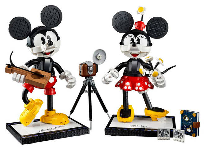 The new Minnie and Mickey LEGO set