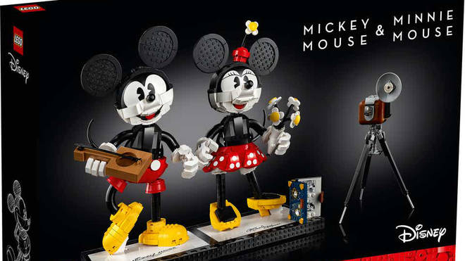 LEGO's new Minnie And Mickey Mouse buildable characters