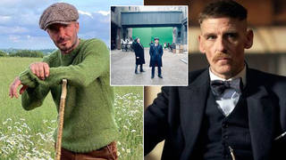 The heartthrob loves the Peaky Blinders style... but will he star in the series?