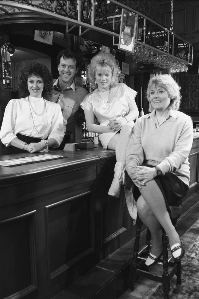 Den Watts was on EastEnders at the very beginning in 1985