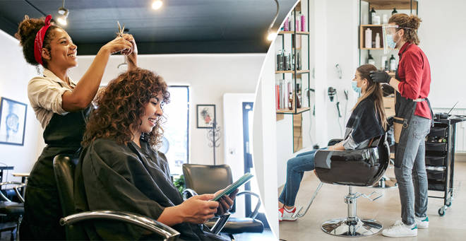 Hairdressers have banned small talk
