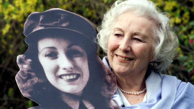 Dame Vera became a symbol of hope during the Second World War