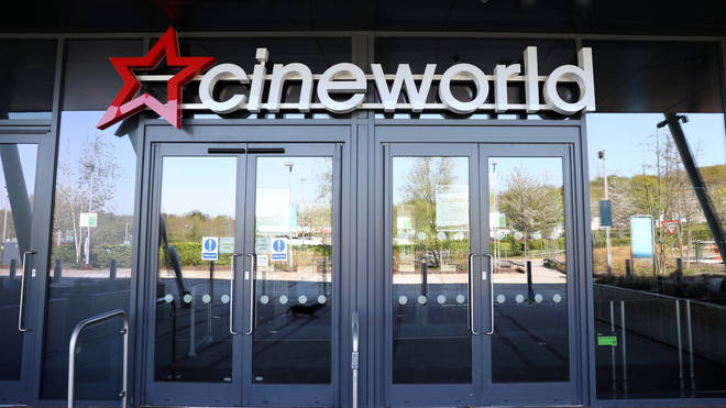 Cineworld closed their doors in March when the lockdown was announced