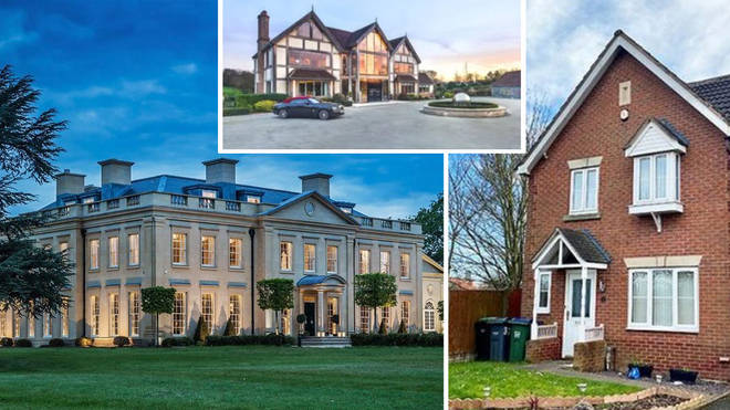 The most popular houses in the UK
