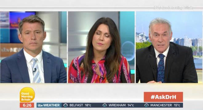 Dr Hilary chatted to Susanna Reid and Ben Shephard on today's GMB