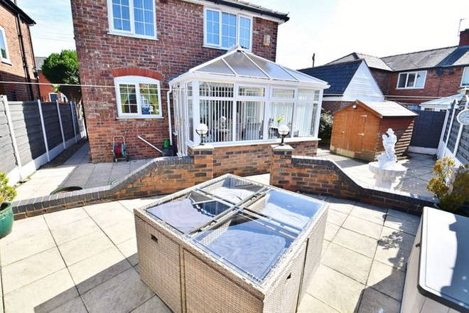 Three bed family home in Manchester