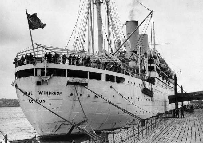 72 years ago, a ship called the Empire Windrush London docked in England