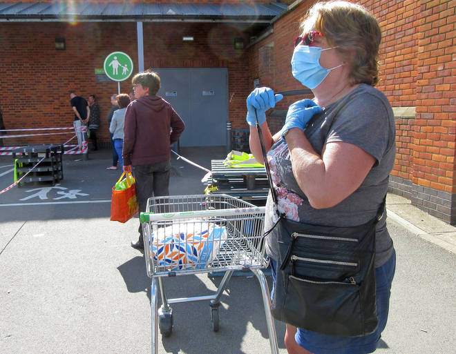 We've all been taking special precautions when visiting supermarkets
