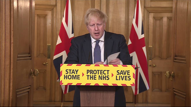 Johnson and the Tories have been monitoring the virus and using 5 steps before lowering the level