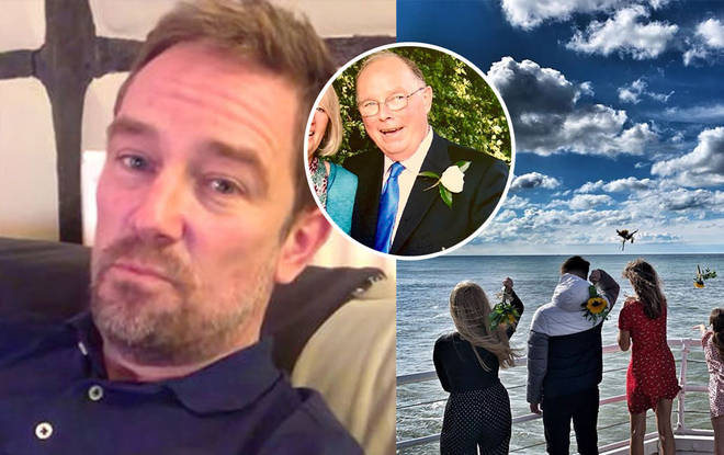 Simon Thomas has spoken out about the incident
