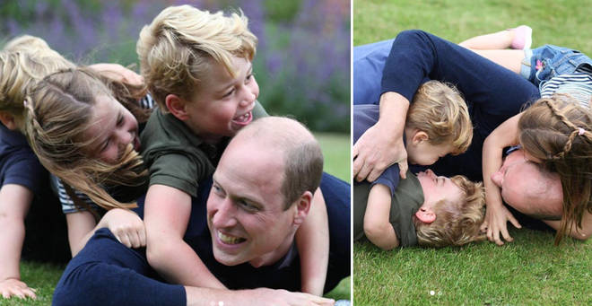 The photos were shared to mark the Duke's 38th birthday