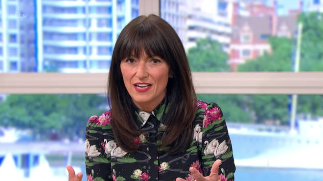 Davina McCall is standing in for Holly Willoughby today