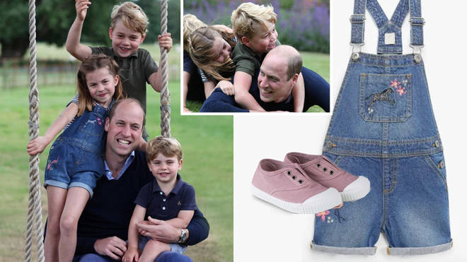Prince William and Kate Middleton shared new picture of the children for Father's Day
