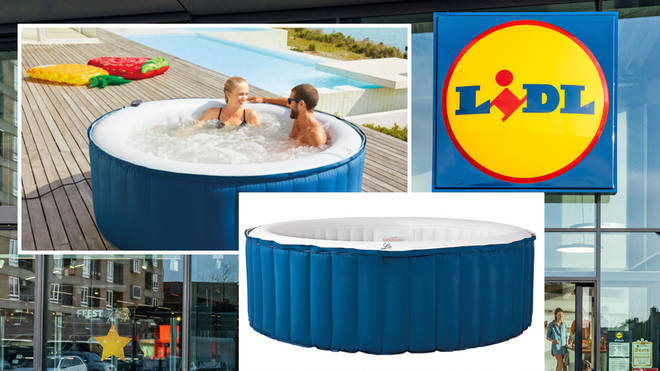 Lidl are bringing back their popular inflatable hot tub