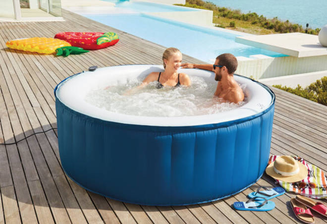 Lidl's hot tub will be back on sale on June 28