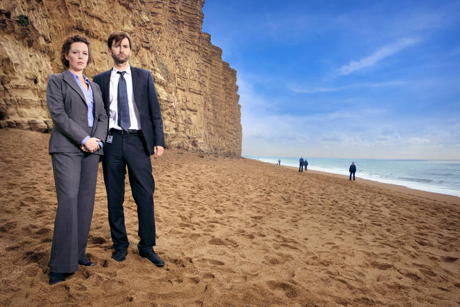 David Tennant and Olivia Coleman star in Broadchurch