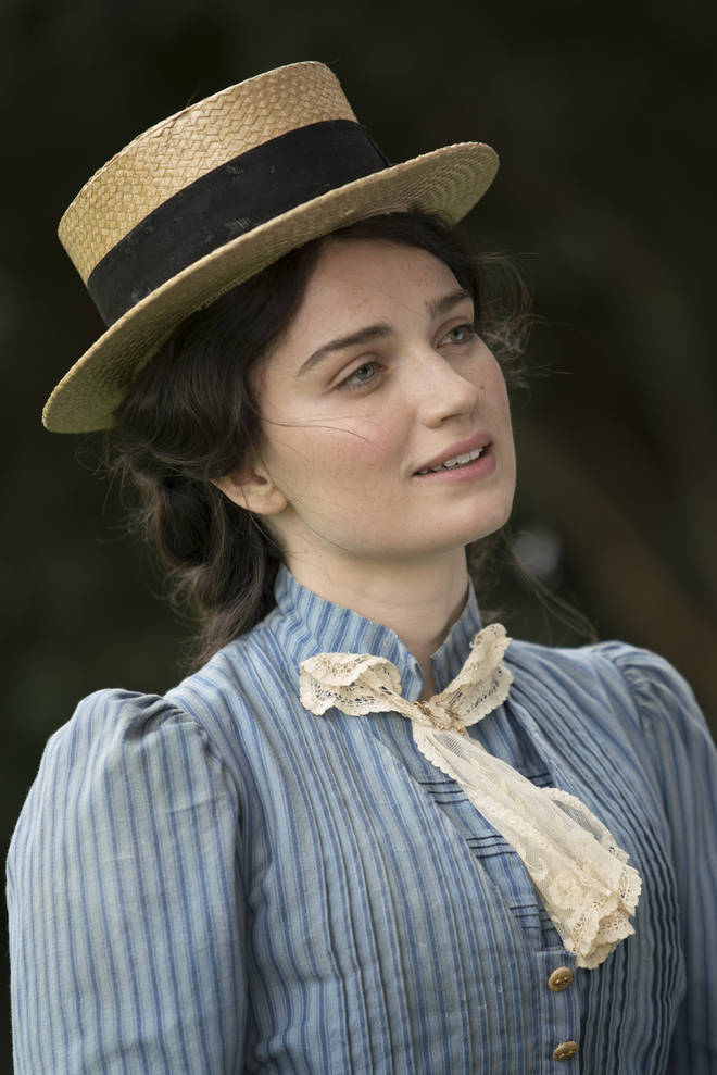 Eve Hewson as Anna Wetherell in The Luminaries