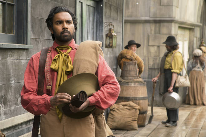 Himesh Patel as Emery Staines in The Luminaries